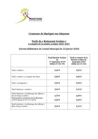 TARIFS RESTAURANT SCOLAIRE 2020 2021 v1 page 0001